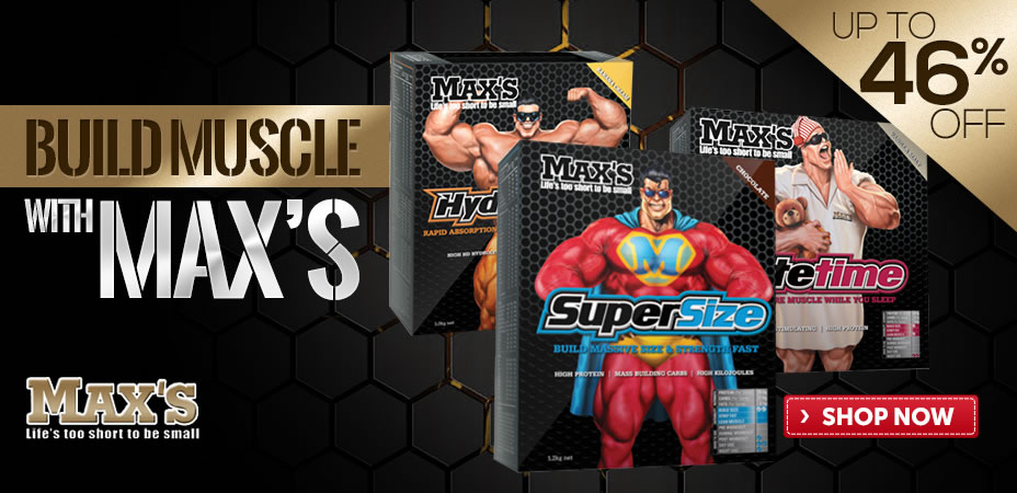 Build Muscle With Max's
