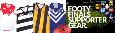 Footy Finals Supporter Gear