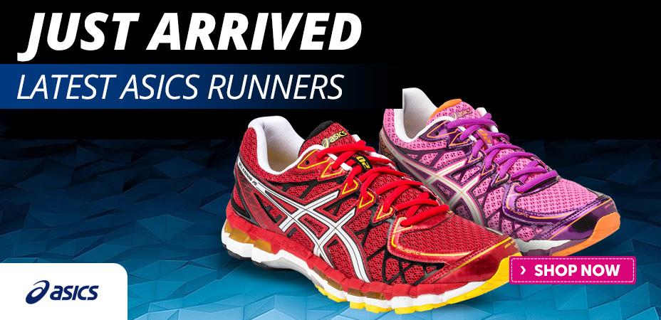 New Asics Models Just Arrived