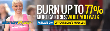 BungyPump Calorie Burning Training Poles