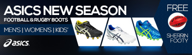 Asics New Season Football & Rugby Boots