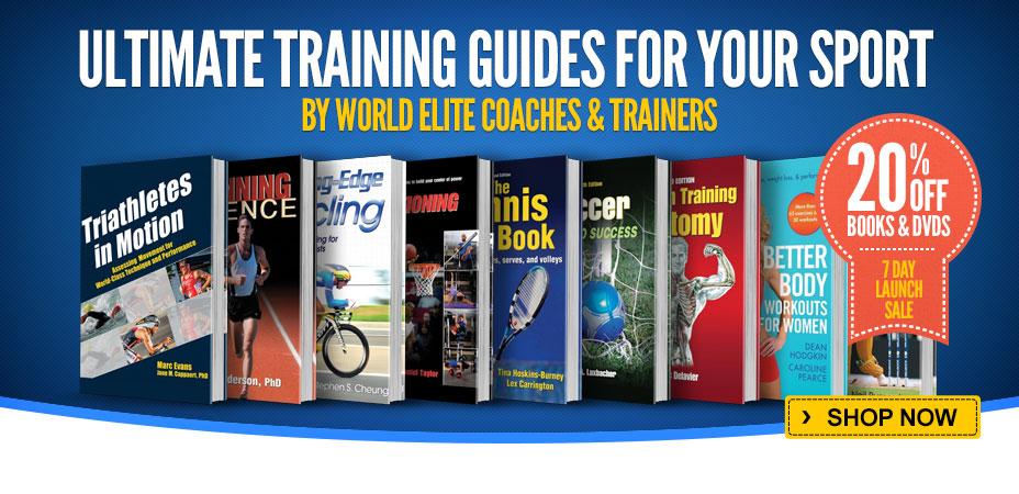 Sports Training Book/DVD Launch Sale