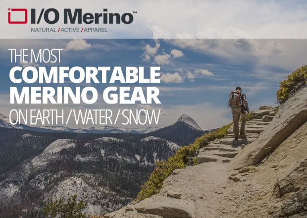 I/O Merino Outdoor Adventure Clothing