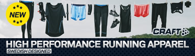 CRAFT High Performance Running Apparel