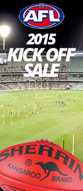 AFL 2015 Kick Off Sale