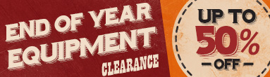 End of Year Equipment Clearance