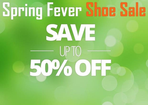 Spring Fever Shoe Sale
