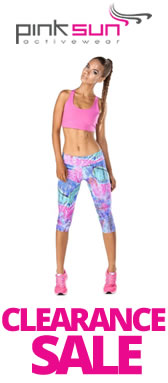 Pink Sun Activewear Clearance