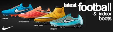 Nike Latest Football & Indoor Boots