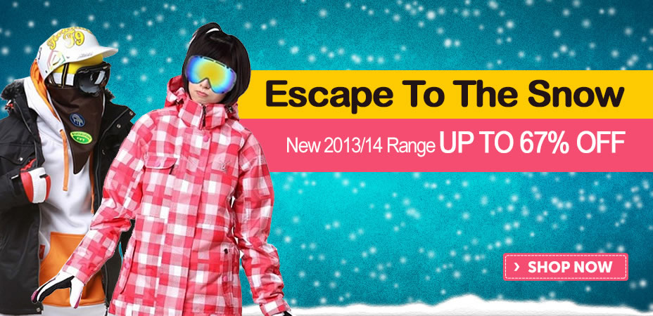 Escape To The Snow Sale